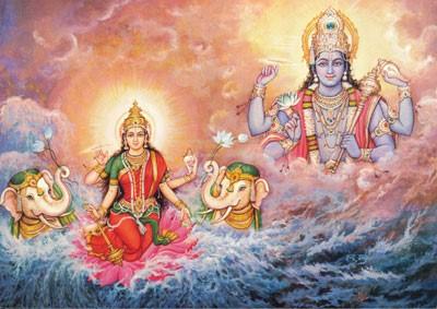 క్షీరాబ్ధి కన్యకకు… శ్రీమహా విష్ణువుకు… నీరాజనం!